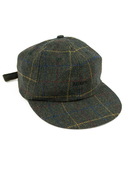 Adsum - Premium Wool Cap - Green Plaid - Northern Fells