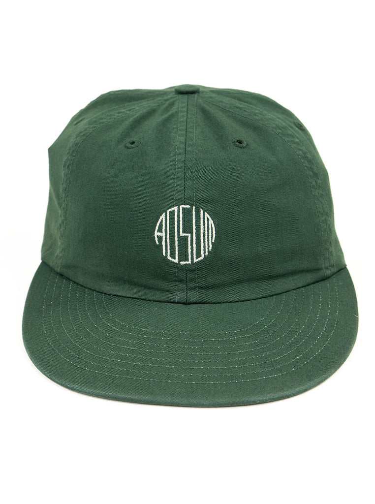 Adsum - Overdyed Engraves Cap - Green Twill - Northern Fells