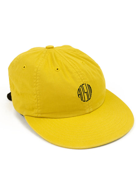 Adsum - Overdyed Engraves Cap - Yellow Twill - Northern Fells