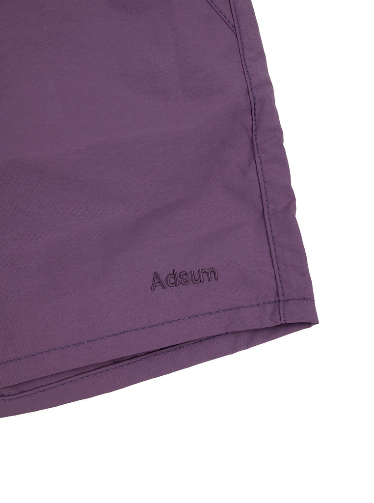 Adsum Site Short Grape The Northern Fells Clothing Company Detail