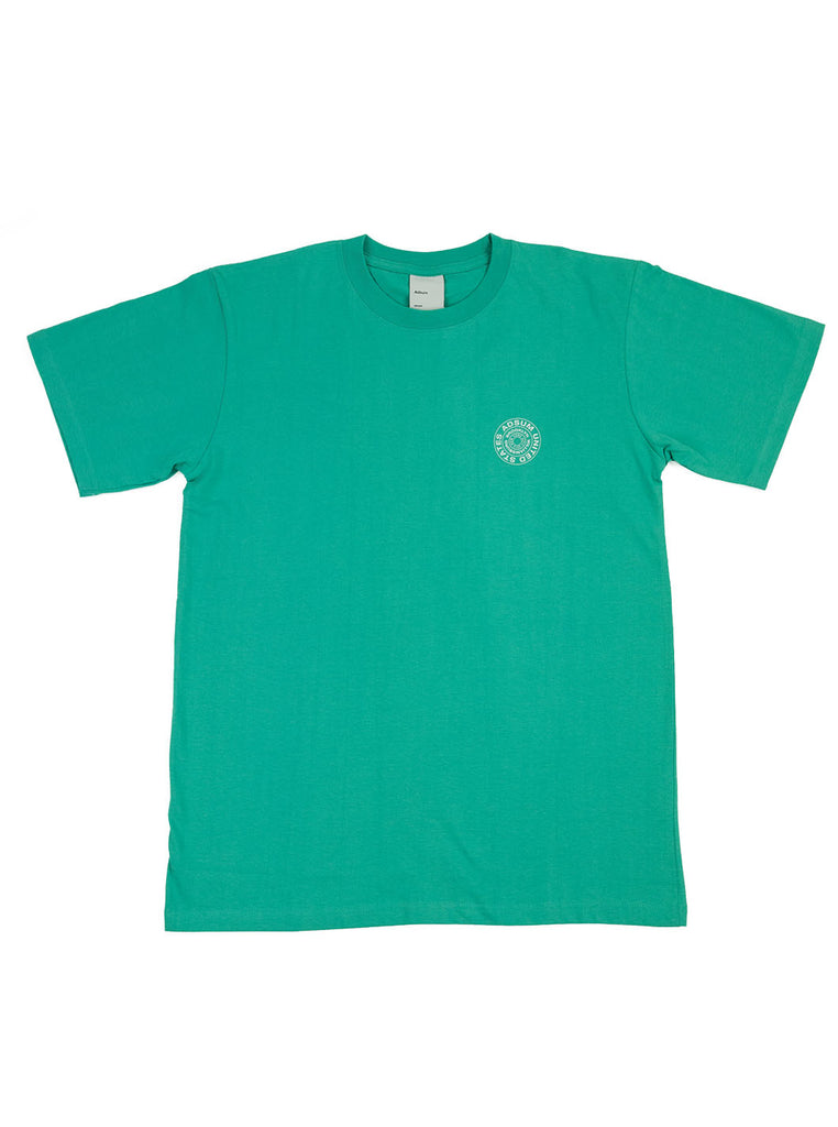 Adsum Stamp T-shirt Mint The Northern Fells Clothing Company Full