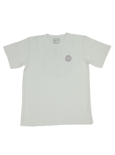 Adsum Stamp T-shirt White The Northern Fells Clothing Company Full