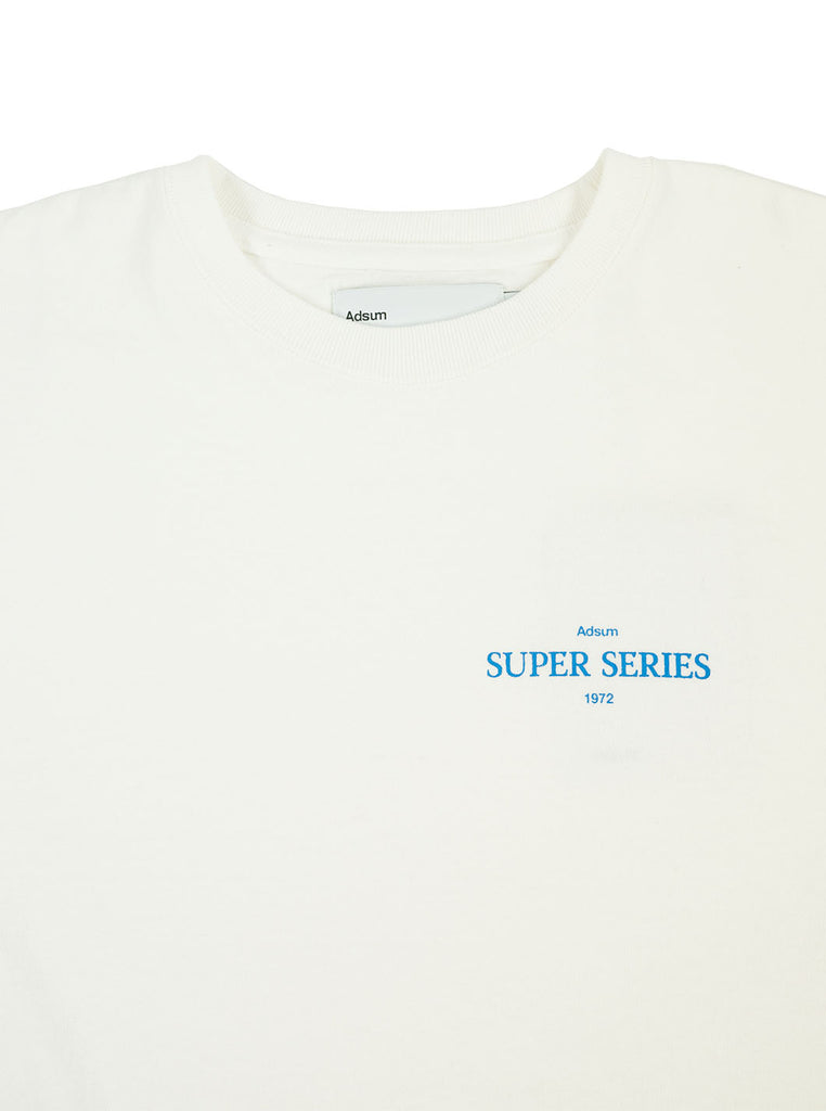 Adsum - Super Series T-Shirt - White - Northern Fells