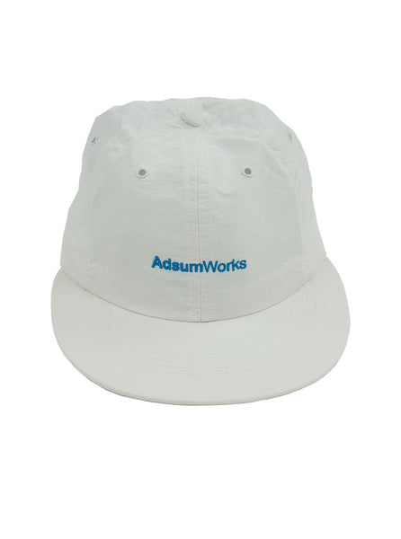 Adsum Works Run Cap White The Northern Fells Clothing Company Full