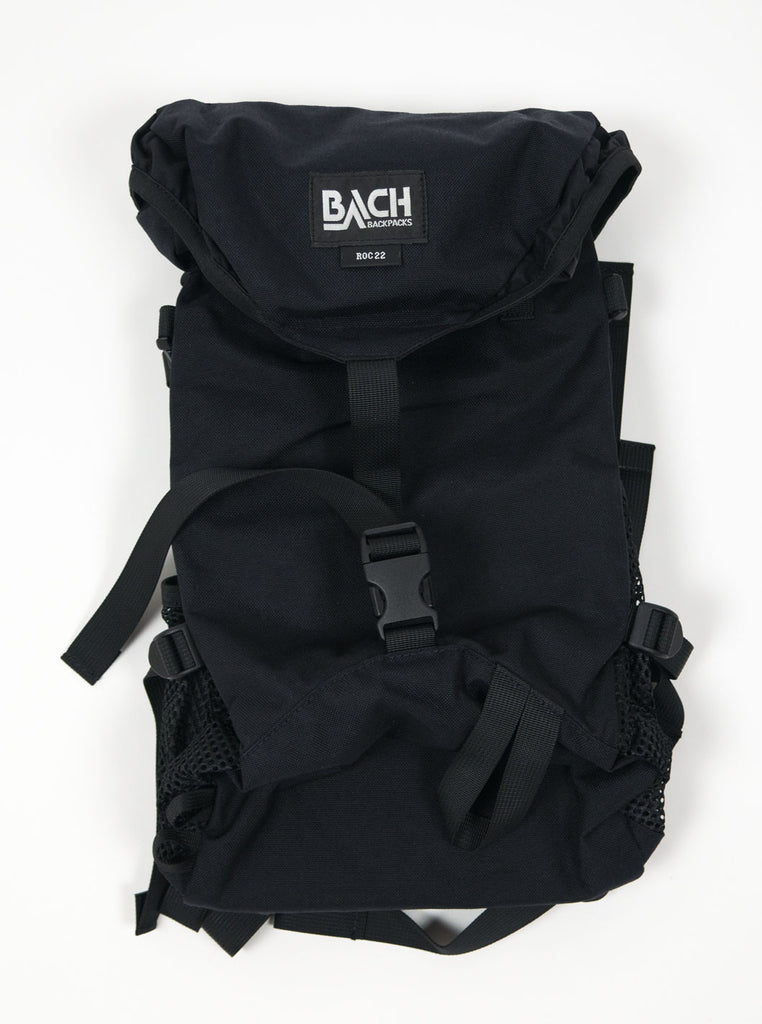 Bach Backpacks - 122015 - Roc 22 - Black - Northern Fells