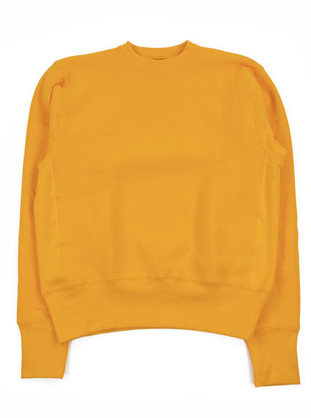 Camber Cross Knit Crew Gold Made in USA The Northern Fells Clothing Company Full