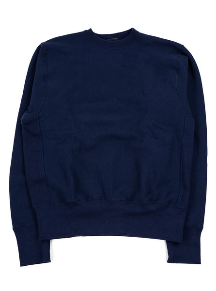 Camber Cross Knit Crew Navy Made in USA The Northern Fells Clothing Company Full