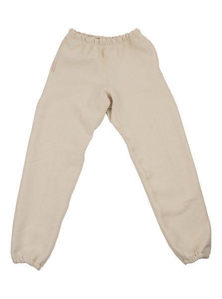 Camber Cross Knit Joggers Beige Made in USA The Northern Fells Clothing Company Full