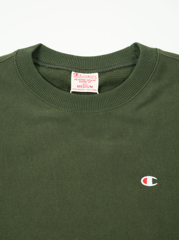 Champion - Reverse Weave Crewneck Sweatshirt - Khaki - Northern Fells