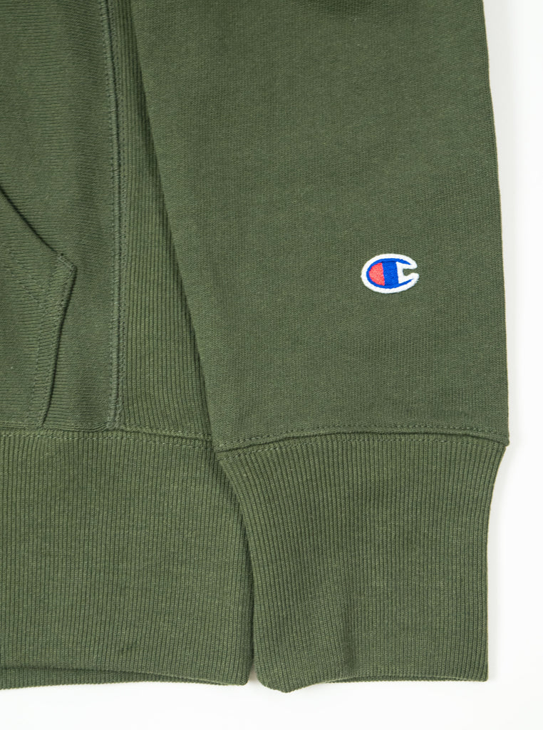 Champion - Reverse Weave Hooded Sweatshirt - Khaki - Northern Fells