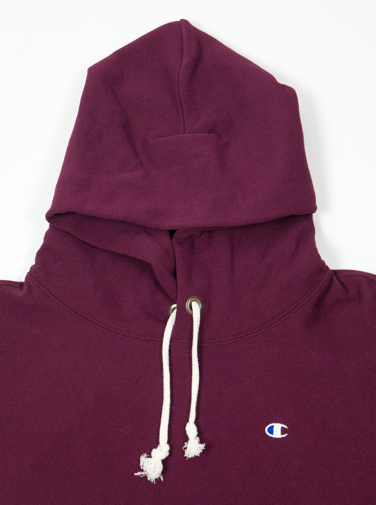 Champion - Reverse Weave Hooded Sweatshirt - Burgundy - Northern Fells