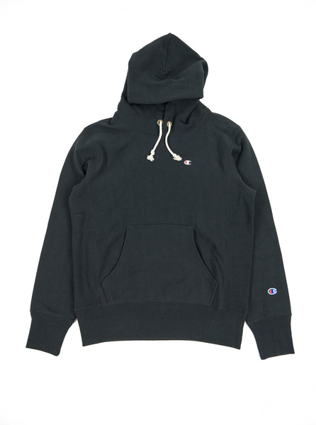 Champion - Reverse Weave Hooded Sweatshirt - Black - Northern Fells