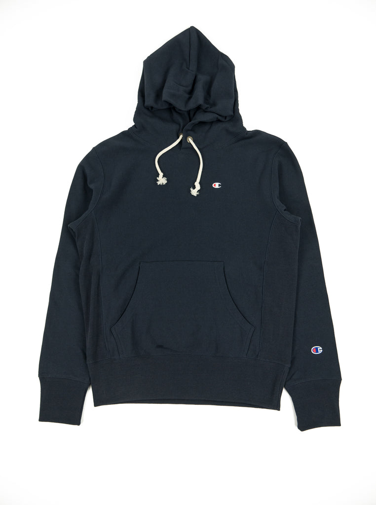5a084b300a7a Champion - Reverse Weave Hooded Sweatshirt - Navy – The Northern ...