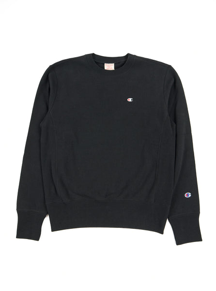 Champion - Reverse Weave Crewneck Sweatshirt - Black - Northern Fells