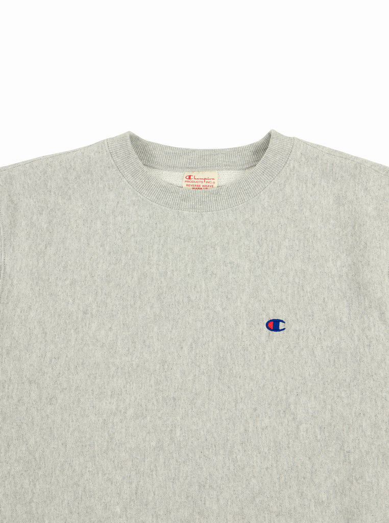 Champion - Reverse Weave Crewneck Sweatshirt - Grey Marl - Northern Fells
