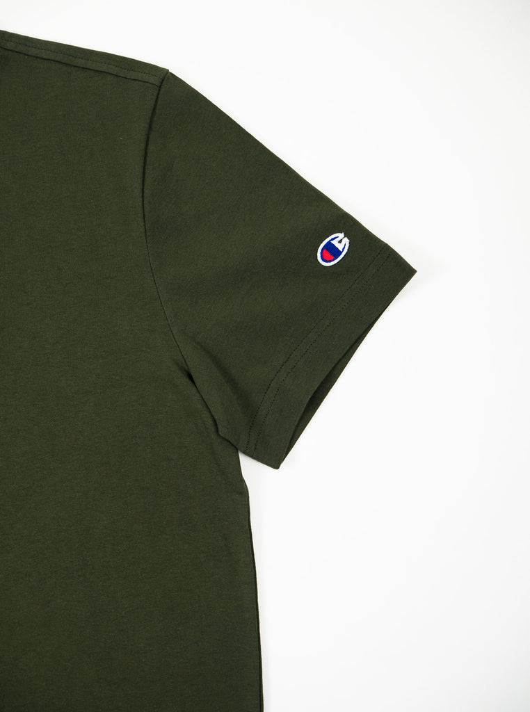 Champion - Reverse Weave Classic T-Shirt - Olive - Northern Fells