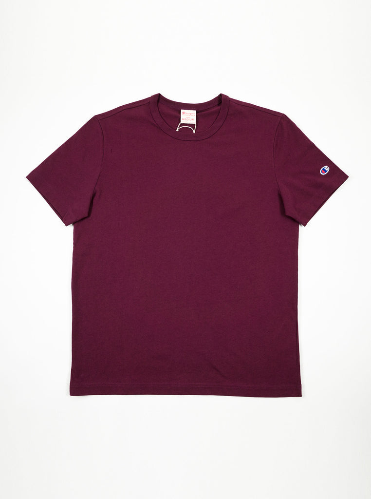 Champion - Reverse Weave Classic T-Shirt - Burgundy - Northern Fells