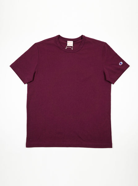 8a065154 Champion - Reverse Weave Classic T-Shirt - Burgundy – The Northern Fells  Clothing Company