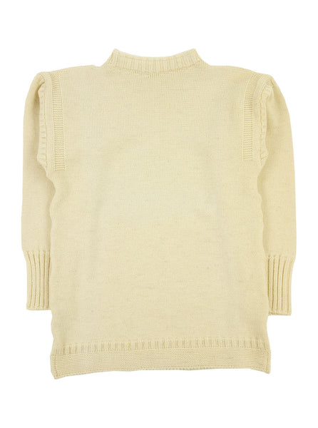 Channel Jumper Burhou Traditional Guernsey Aran The Northern Fells Clothing Company Full
