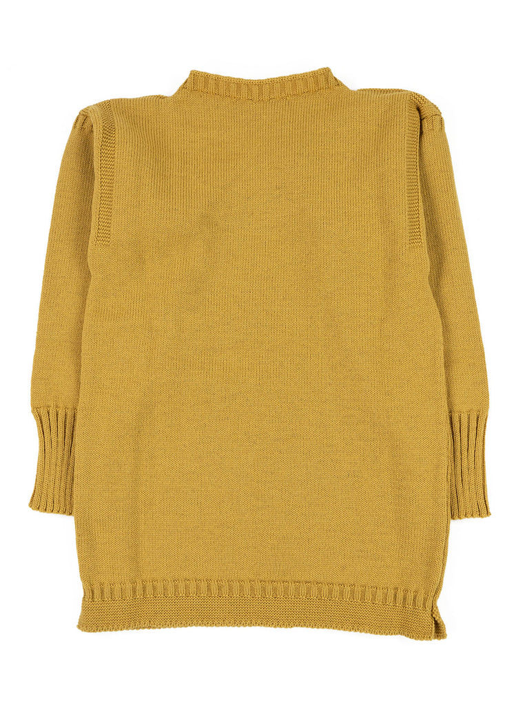 Channel Jumper Burhou Traditional Guernsey Sunflower The Northern Fells Clothing Company Full