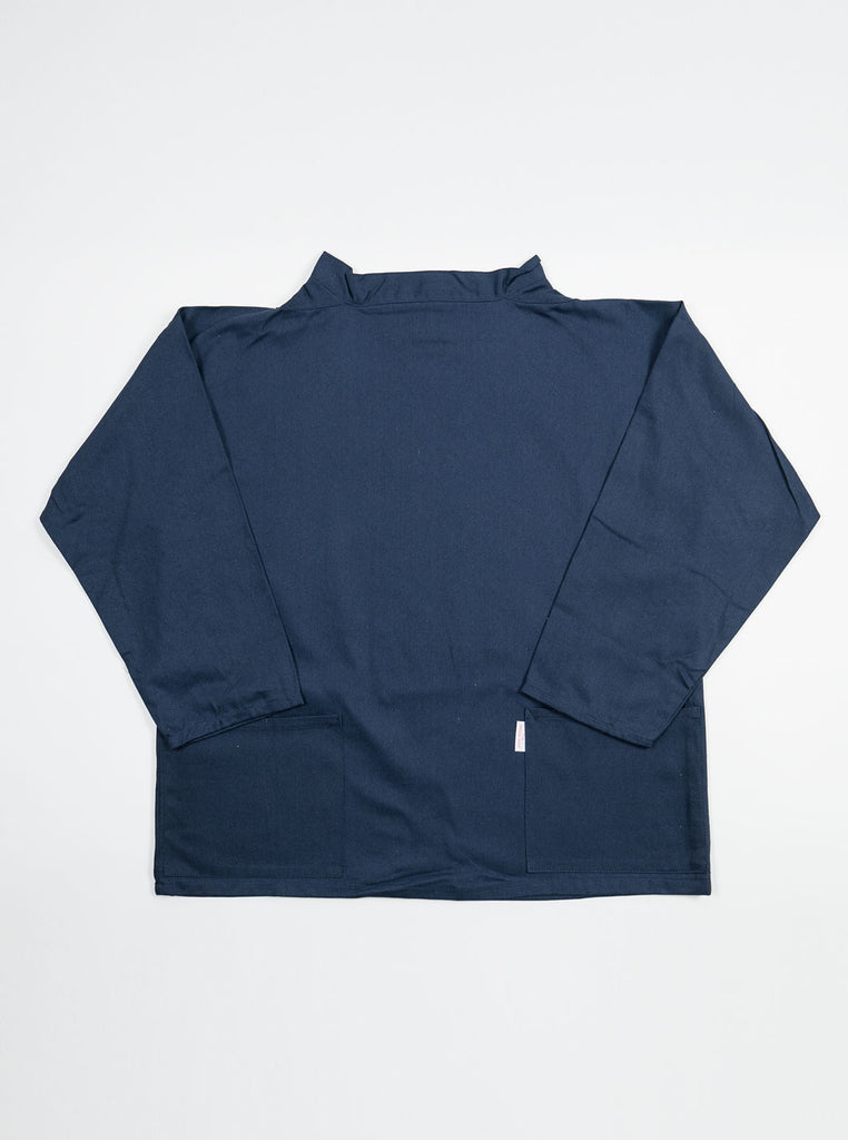 Cornish Smocks - Classic Crew Neck Fisherman Smock - Navy - Northern Fells