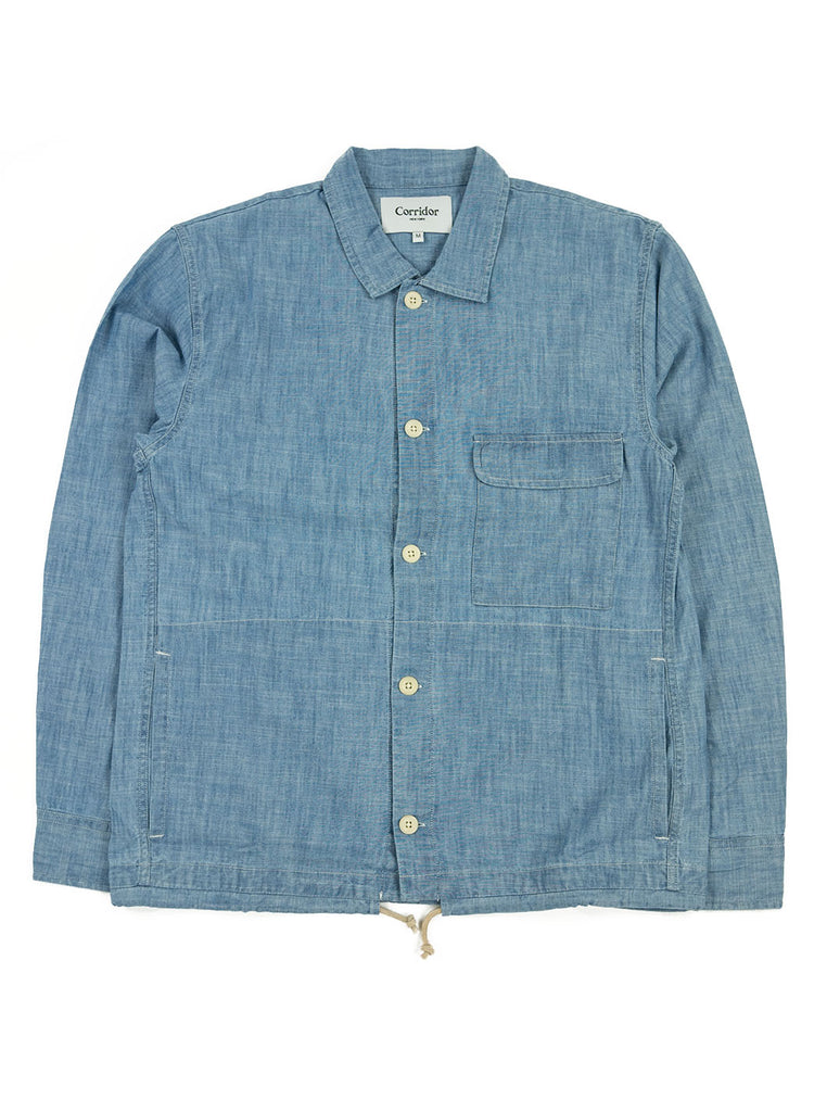 Corridor Chambray Service Shirt The Northern Fells Clothing Company Full