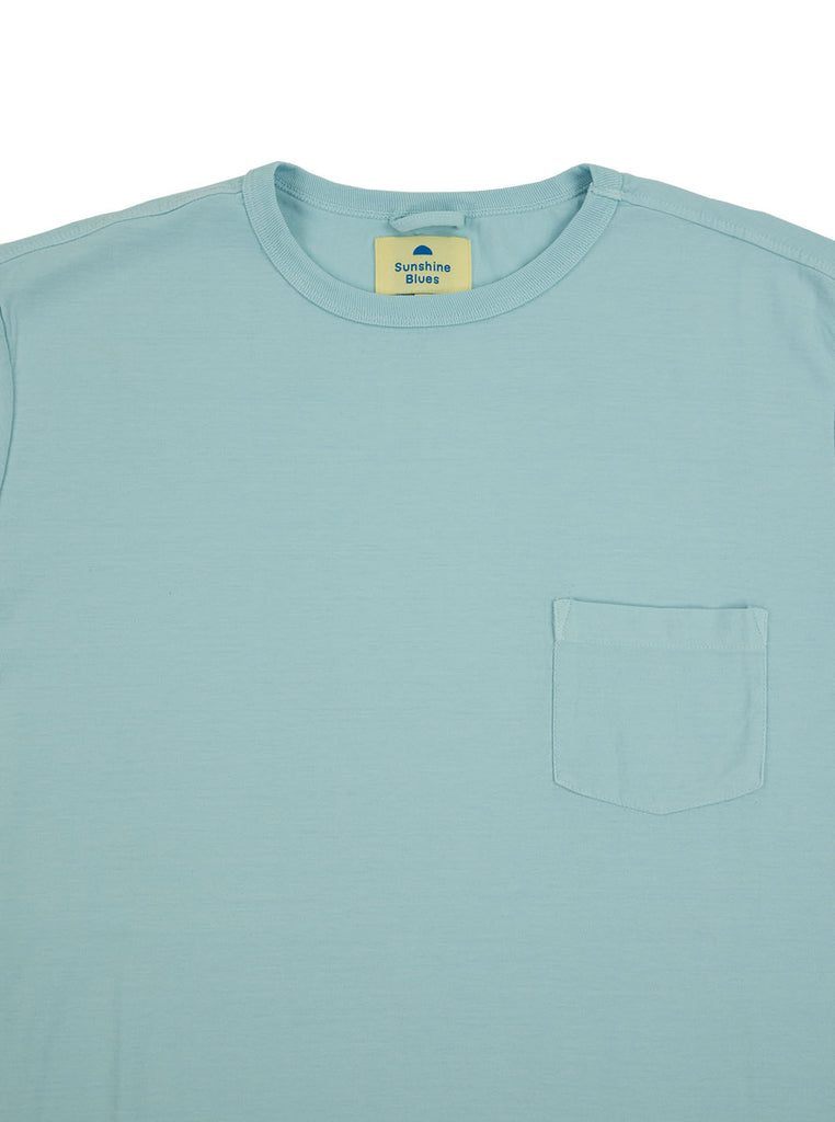 Corridor Chrystal Blue The Northern Fells Clothing Company Neck