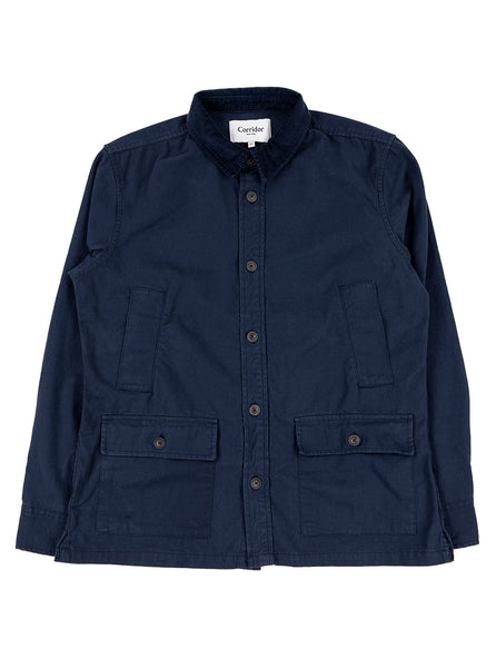 Corridor City Barn Coat Navy The Northern Fells Clothing Company Full
