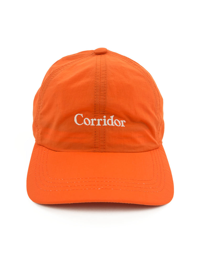 Corridor Microfiber Cap Orange The Northern Fells Clothing Company Full