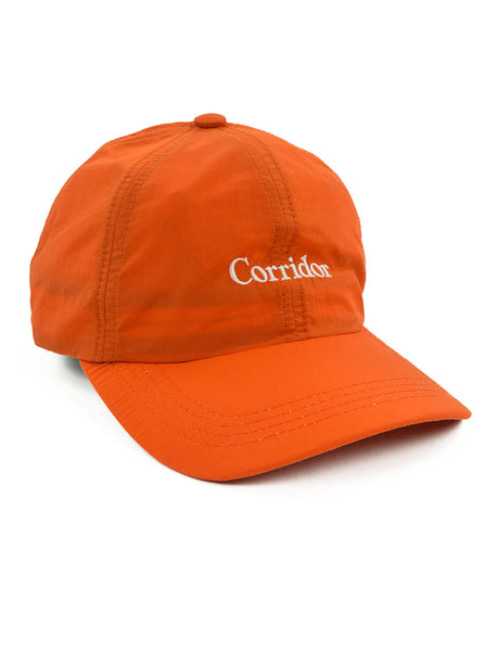 Corridor Microfiber Cap Orange The Northern Fells Clothing Company Side