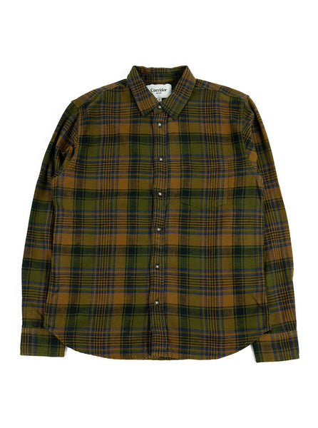 Corridor NYC Brown Unity Plaid The Northern Fells Clothing Company Full
