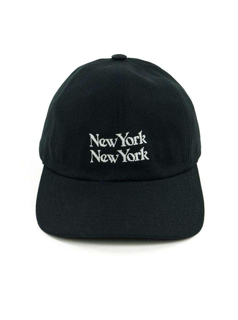Corridor New York New York Cap Black The Northern Fells Clothing Company Full