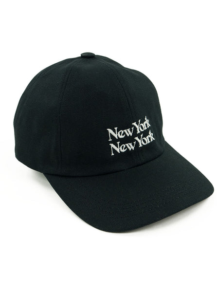 Corridor New York New York Cap Black The Northern Fells Clothing Company Side
