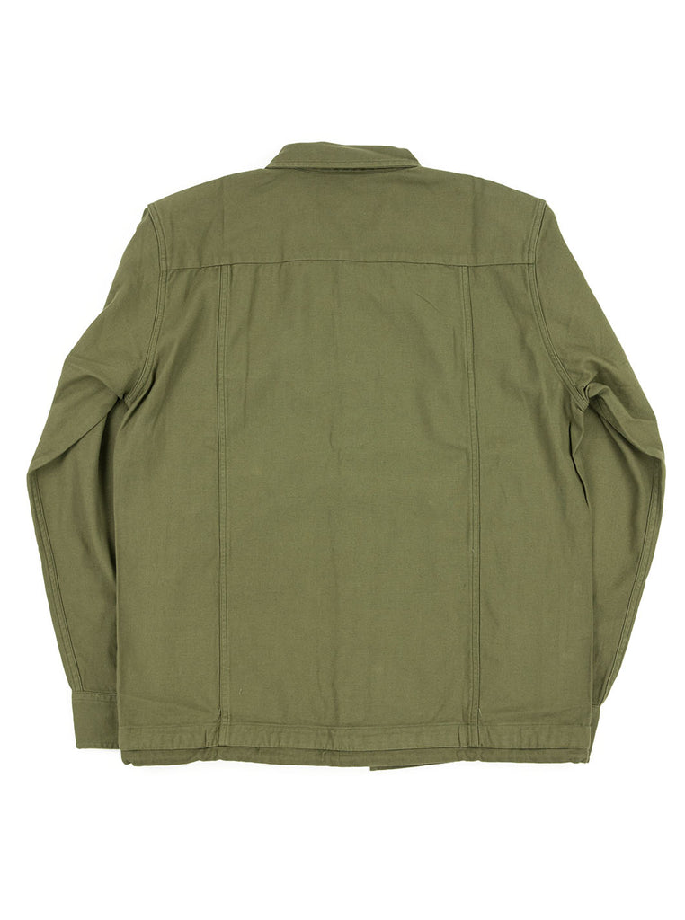 Corridor Olive Dolby Service Shirt The Northern Fells Clothing Company Back