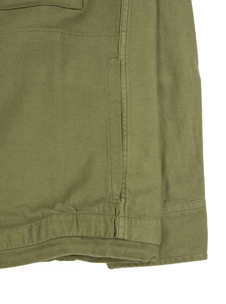 Corridor Olive Dobby Service Shirt The Northern Fells Clothing Company Pocket