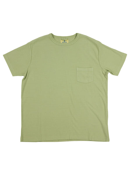 Corridor Olive Tee Lint The Northern Fells Clothing Company Full