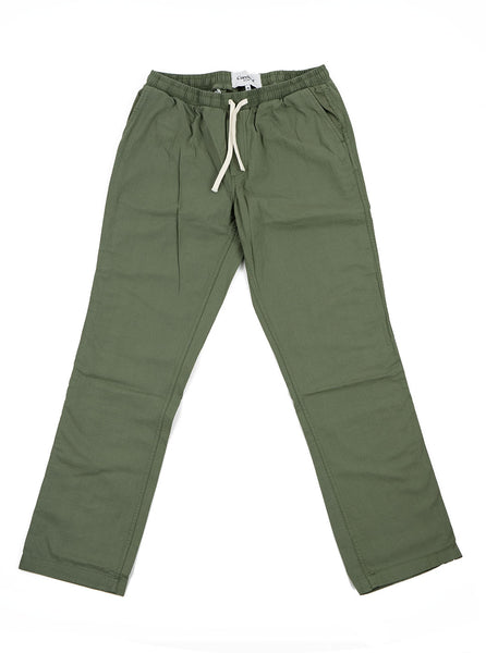 Corridor Ripstop Olive Drawstring Trouser The Northern Fells Clothing Company Back