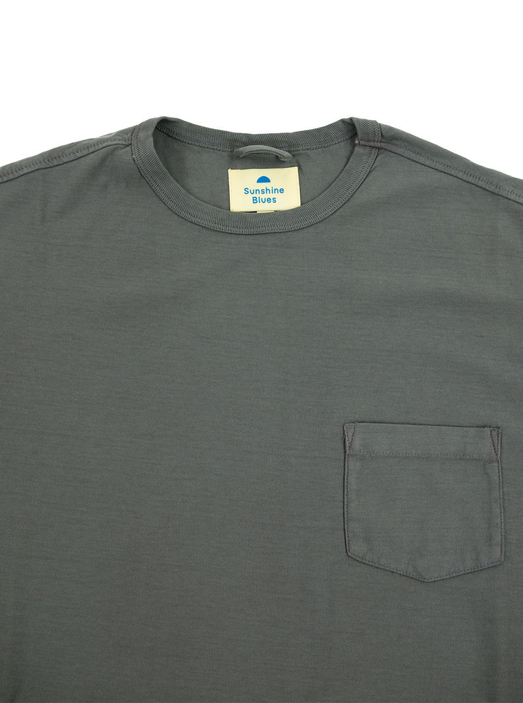 Corridor Tee Black The Northern Fells Clothing Company Neck