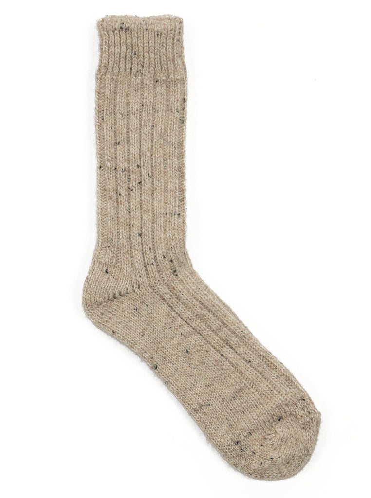 Donegal Wool Socks - Natural - Northern Fells