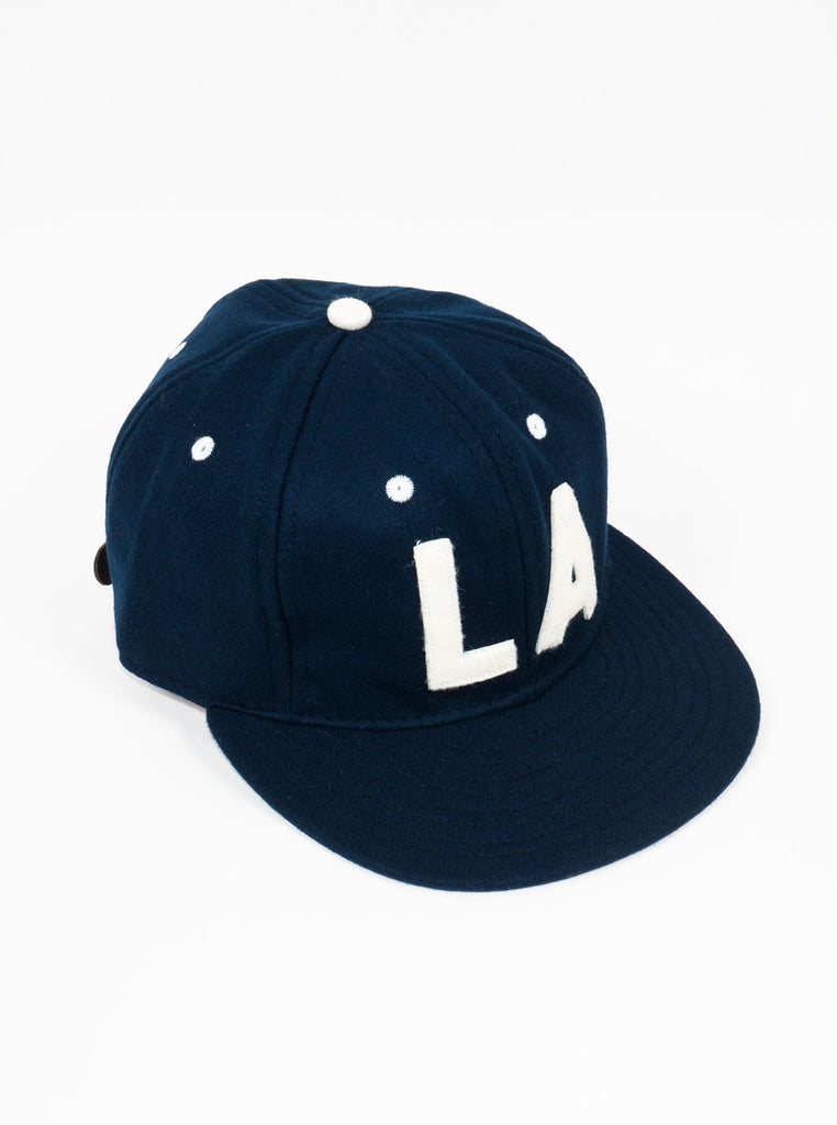 Ebbets Field Flannels - Los Angeles Angels 1954 - Strap Back Cap - Navy - Northern Fells