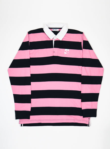 Gio-Gio-G-logo-Rugby-shirt-navy-pink-the-northern-fells-clothing-company