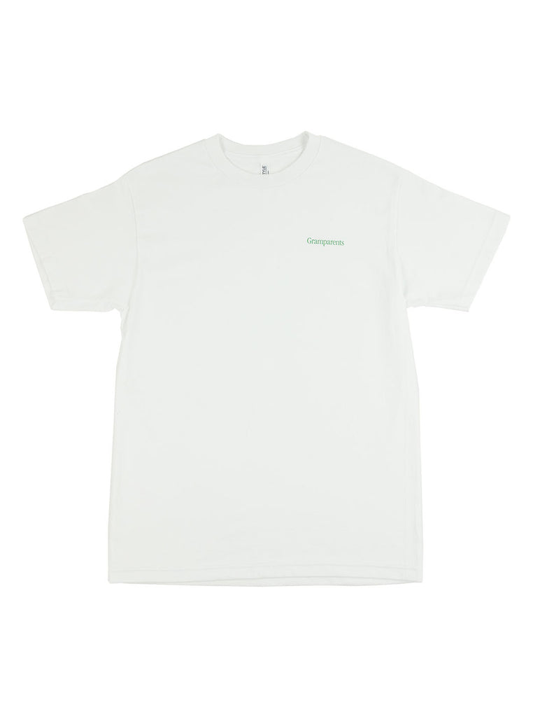 Gramparents - Logo Tee - White - Northern Fells