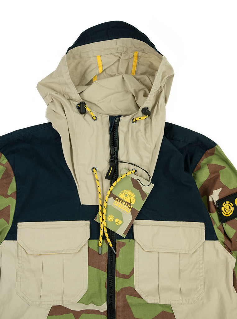 Griffin X Element - Alder Camp Jacket - Abstract Camo - Northern Fells