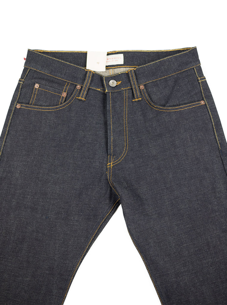 Hawksmill Denim Co - Loose Tapered Japanese Selvedge - Indigo - Northern Fells