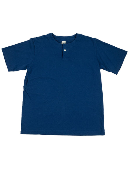 Jackman - Henley T-Shirt - Lake Navy - Northern Fells