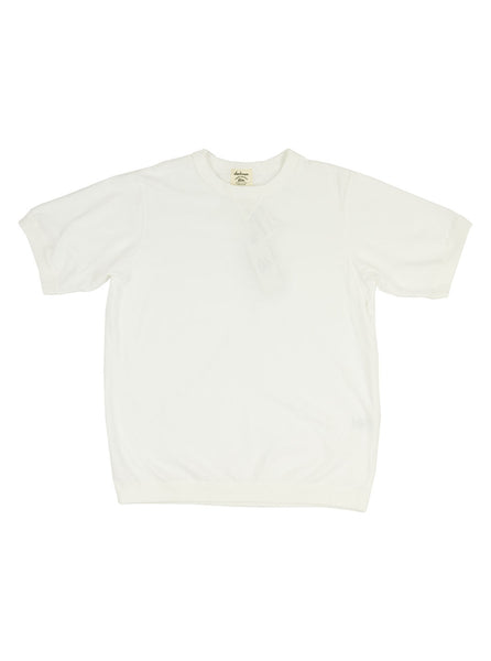 Jackman - Ribbed T-Shirt - White - Northern Fells