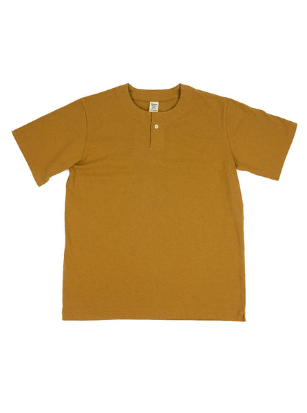 Jackman - Henley T-Shirt - Old Gold - Northern Fells