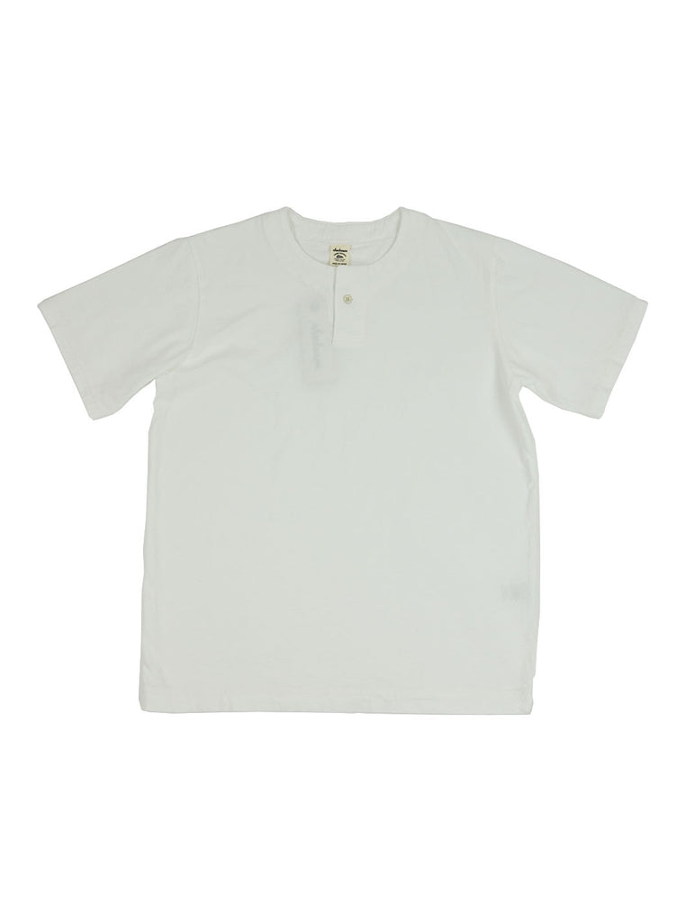 Jackman - Henley T-Shirt - White - Northern Fells