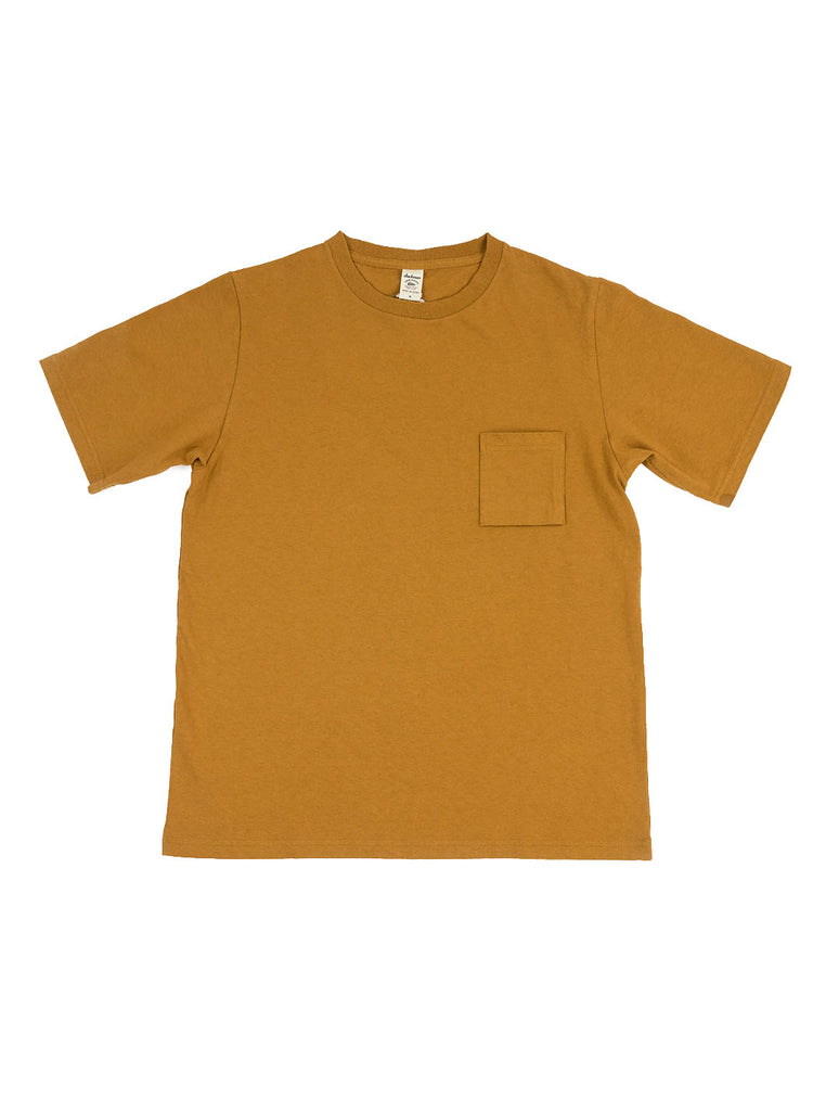 Jackman - Pocket T-Shirt - Old Gold - Northern Fells