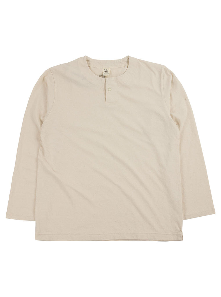 Jackman - Henley Long Sleeve T-Shirt - Kinari - Northern Fells